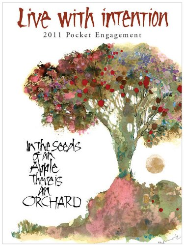 9781593248048: 2011 Live with Intention - Pocket Calendar