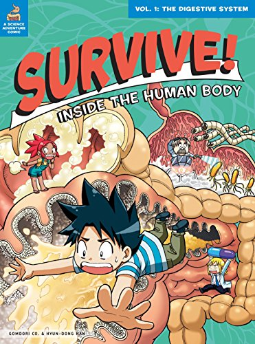 9781593274719: Survive! Inside the Human Body, Vol. 1: The Digestive System
