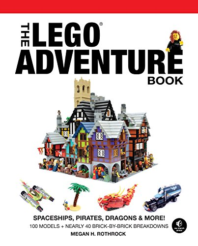 9781593275129: The LEGO Adventure Book, Vol. 2: Spaceships, Pirates, Dragons & More!