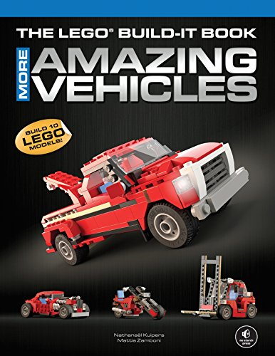 9781593275136: The LEGO Build-It Book, Vol. 2: More Amazing Vehicles