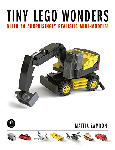 9781593277352: Tiny Lego Wonders: Build 42 Surprisingly Realistic Mini-Models!