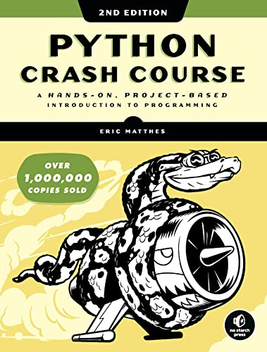 9781593279288: Python Crash Course: A Hands-on, Project-based Introduction to Programming