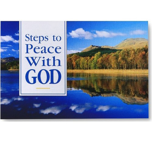 9781593281762: Steps to Peace with God: Scenic 25pk