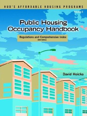 9781593301293: Public Housing Occupancy Handbook