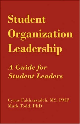9781593304690: Student Organization Leadership: A Guide for Student Leaders