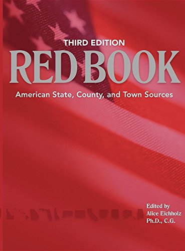 9781593311667: Red Book: American State, County & Town Sources, Third Edition