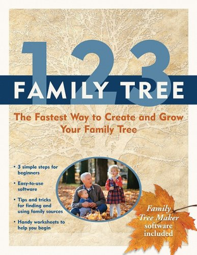 9781593312961: 1-2-3 Family Tree: The Fastest Way to Create and Grow Your Family Tree