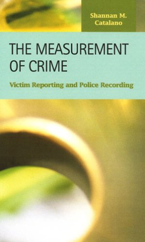 9781593321550: The Measurement of Crime: Victim Reporting and Police Recording (Criminal Justice)