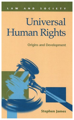 9781593322090: Universal Human Rights: Origins and Development (Law and Society)