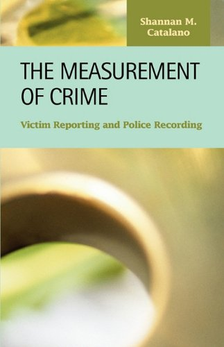 9781593324346: The Measurement of Crime: Victim Reporting and Police Recording (Criminal Justice Recent Scholarship)