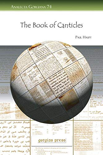 9781593338879: The Book of Canticles