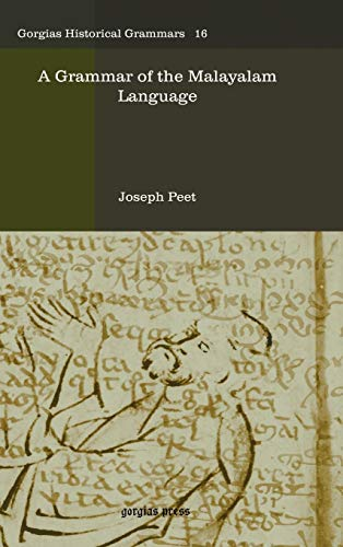 A Grammar of the Malayalam Language: Joseph Peet