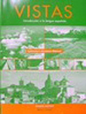 Vistas: Introduccion a La Lengua Espanola- Instructor's: Blanco, Jose and