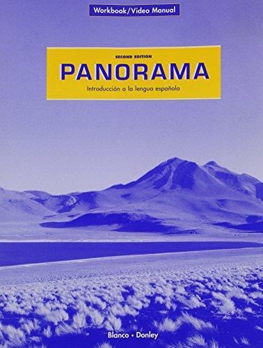 9781593345228: PANORAMA 2/e Workbook/Video Manual