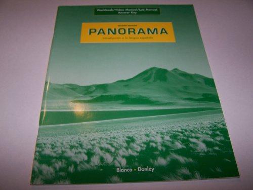 PANORAMA 2/e Answer Key: Donley Blanco
