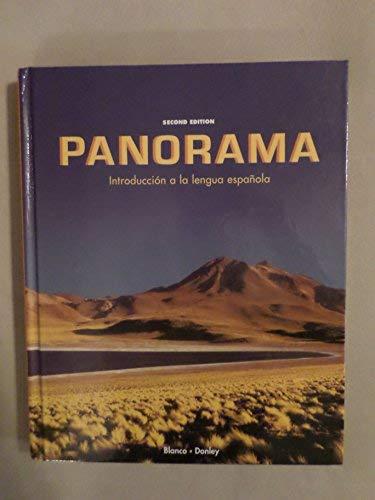 9781593346607: Panorama: Introduccion a la lengua espanola, 2nd Edition