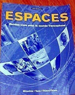 9781593348366: Espaces: Rendez-vous avec le monde francophone