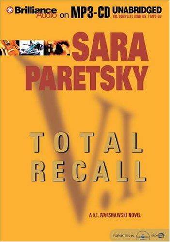 9781593351588: Total Recall (V. I. Warshawski Series)