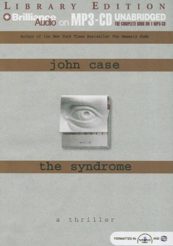 The Syndrome (159335634X) by John Case