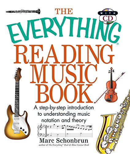 9781593373245: The Everything Reading Music: A Step-By-Step Introduction To Understanding Music Notation And Theory