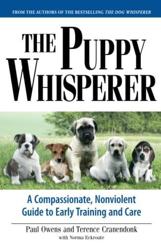 9781593375973: The Puppy Whisperer: A Compassionate, Non Violent Guide to Early Training and Care