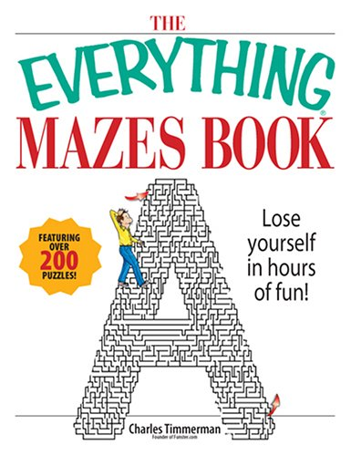 9781593376383: The Everything Mazes Book