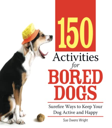 9781593376888: 150 Activities For Bored Dogs: Surefire Ways to Keep Your Dog Active and Happy