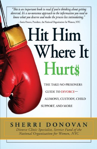 9781593377397: Hit Him Where It Hurts: The Take-No-Prisoners Guide to Divorce-Alimony, Custody, Child Support, and More