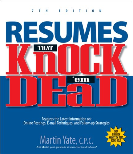 9781593377489: Resumes That Knock 'em Dead