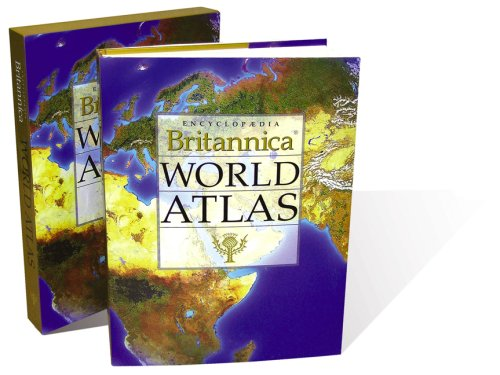 9781593392680: Encyclopedia Britannica World Atlas