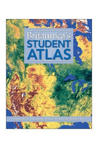 9781593398415: Britannica Student Atlas: A Colorful, Engaging World Atlas for Grades 5-8