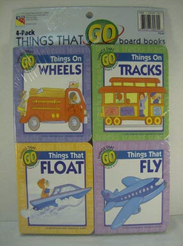 Things That Go (wheels, tracks, float, fly)- 4 pack (Things That Go)