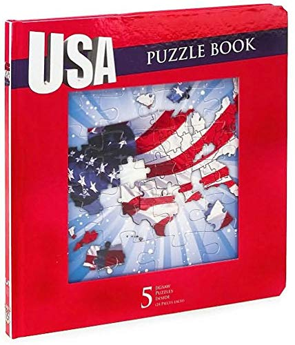 9781593405649: USA Jigsaw Puzzle Book [Board book]