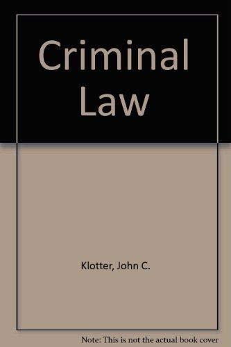 9781593453244: Criminal Law