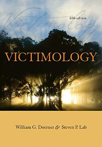 Victimology: William G. Doerner,