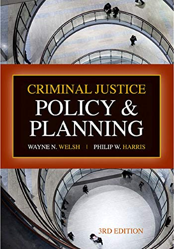 9781593455088: Criminal Justice Policy and Planning