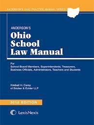 9781593456689: Anderson's Ohio School Law Manual 2012 Edition (Anderson's Ohio Practice Manual Series)