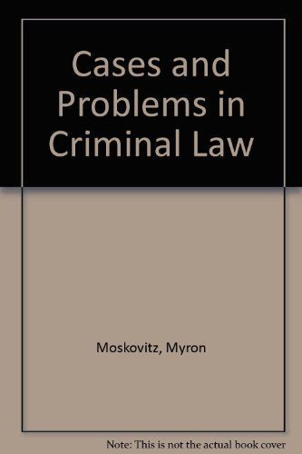 9781593459031: Cases and Problems in Criminal Law