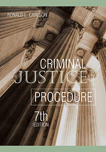 9781593459611: Criminal Justice Procedure, Seventh Edition