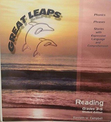 9781593470135: Great Leaps Reading Program Student Edition Grades 3-5
