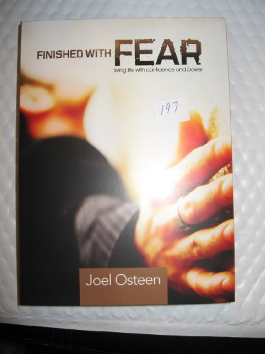 9781593496920: FINISHED WITH FEAR LIVING LIFE WITH CONFIDENCE AND POWER (3 CDS;)