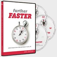 9781593497576: Further Faster: God's Plan for Acceleration in Your Life Joel Osteen