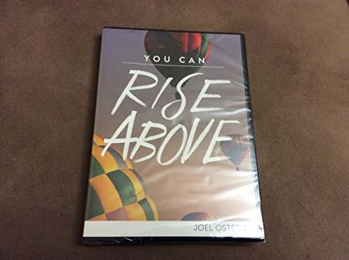 9781593498016: You Can Rise Above JOEL OSTEEN -3 messages cd/dvd set