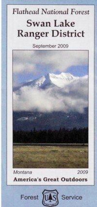 9781593510343: Flathead National Forest Map: Swan Lake Ranger District, Montana