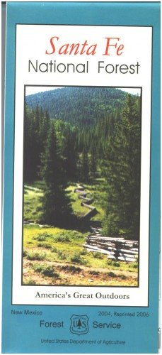 Santa Fe National Forest Map - Paper (1593512082) by Santa Fe National Forest