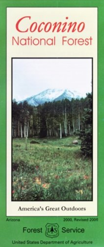 9781593512194: Coconino National Forest Map - Waterproof