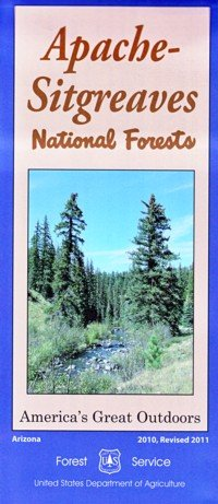 9781593512361: Apache-Sitgreaves National Forests (America's Great Outdoors)