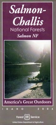 9781593513634: Salmon-Challis National Forest Map, Salmon NF Sheet