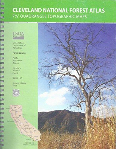 9781593514129: Cleveland National Forest Atlas 7 1/2\' Quadrangle ...