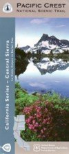 9781593514716: Pacific Crest Trail Central Sierra Hiking Map